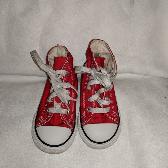 Converse Other - Red high top Converse